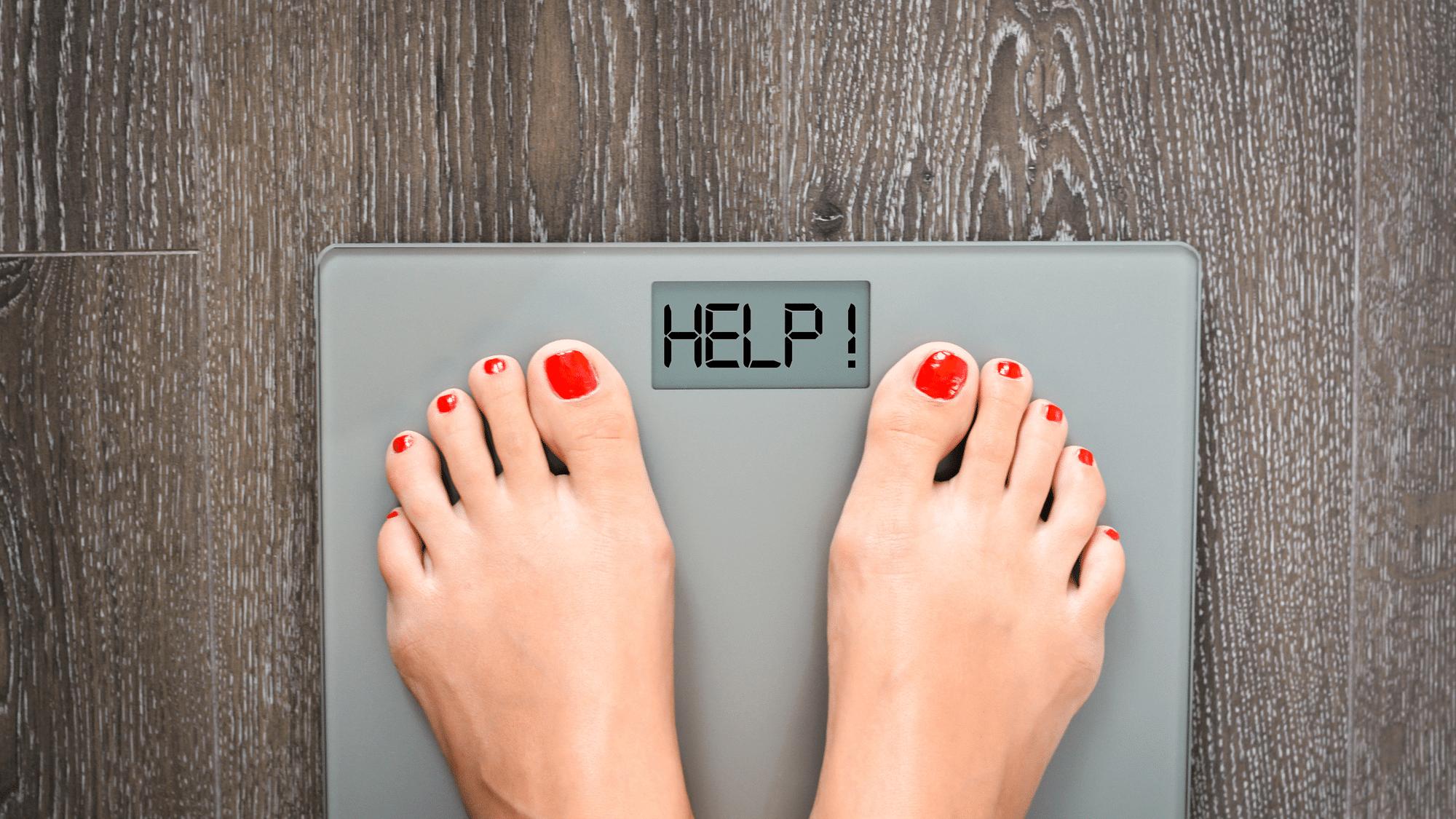 progress losing weight